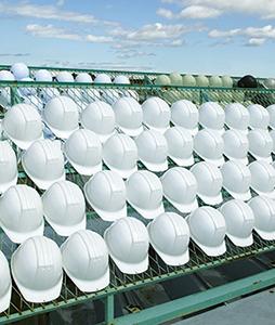 保護帽の経年劣化(その1)